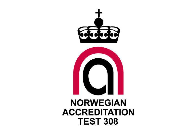 ISO 17025 from Norwegian accreditation